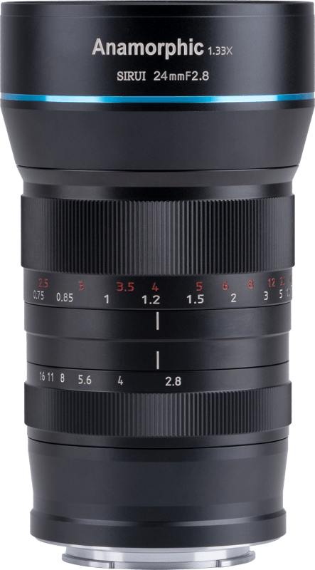 Obiektyw Sirui Anamorphic Lens 1,33x 24mm f/2.8 Canon EF-M
