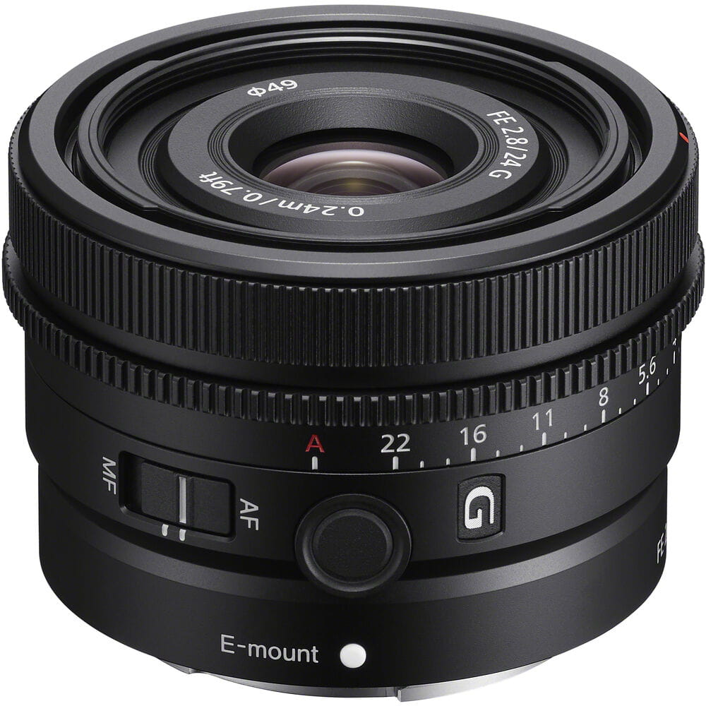 Obiektyw Sony FE 24 mm f/2.8 G - SEL24F28G