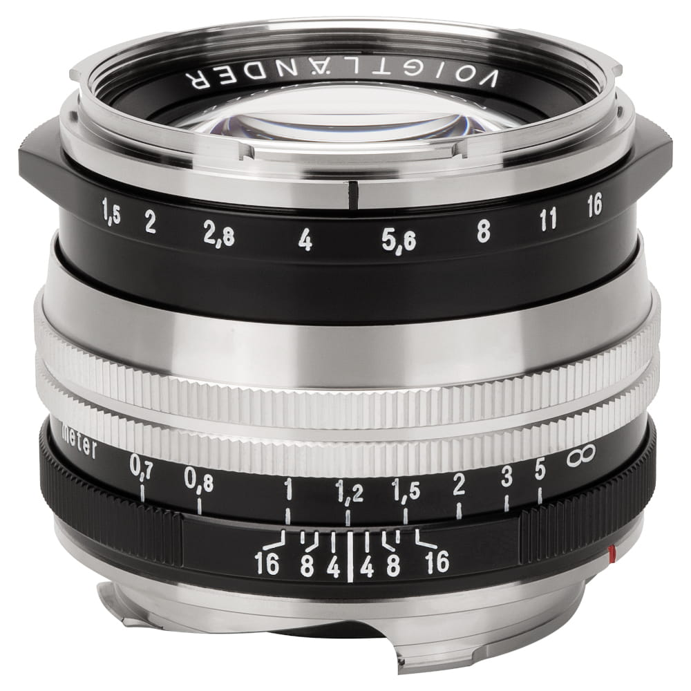 Obiektyw Voigtlander Nokton II 50 mm f/1,5 do Leica M - MC niklowy
