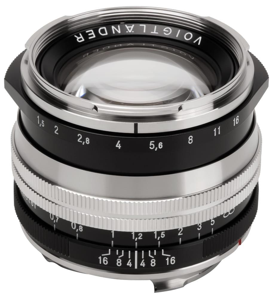 Obiektyw Voigtlander Nokton II 50 mm f/1,5 do Leica M - SC niklowy