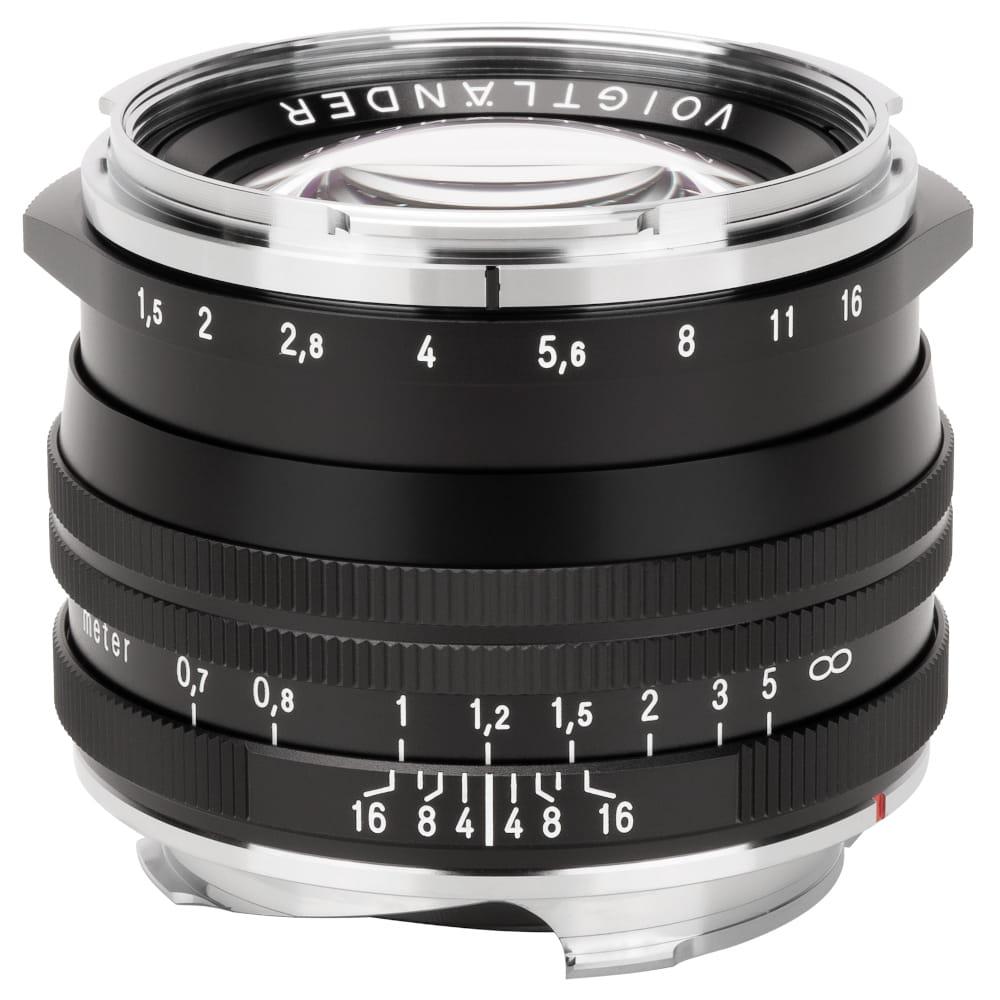 Obiektyw Voigtlander Nokton II 50 mm f/1,5 do Leica M - MC czarny