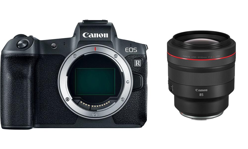 Aparat Canon EOS R + RF 85mm f/1.2L USM