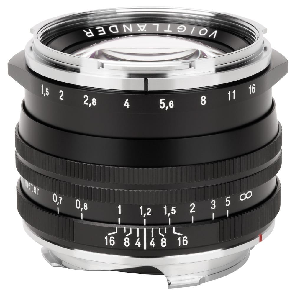 Obiektyw Voigtlander Nokton II 50 mm f/1,5 do Leica M - SC czarny