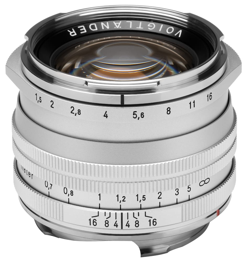 Obiektyw Voigtlander Nokton II 50 mm f/1,5 do Leica M - MC srebrny