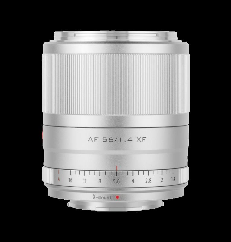 Obiektyw Viltrox 56mm 1.4 FX - Srebrny
