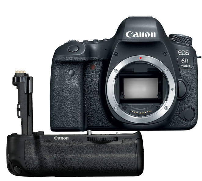 Lustrzanka Canon EOS 6D mark II - body + Grip BG-E21