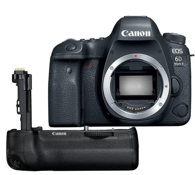 Lustrzanka Canon EOS 6D mark II - body + Grip BG-E21