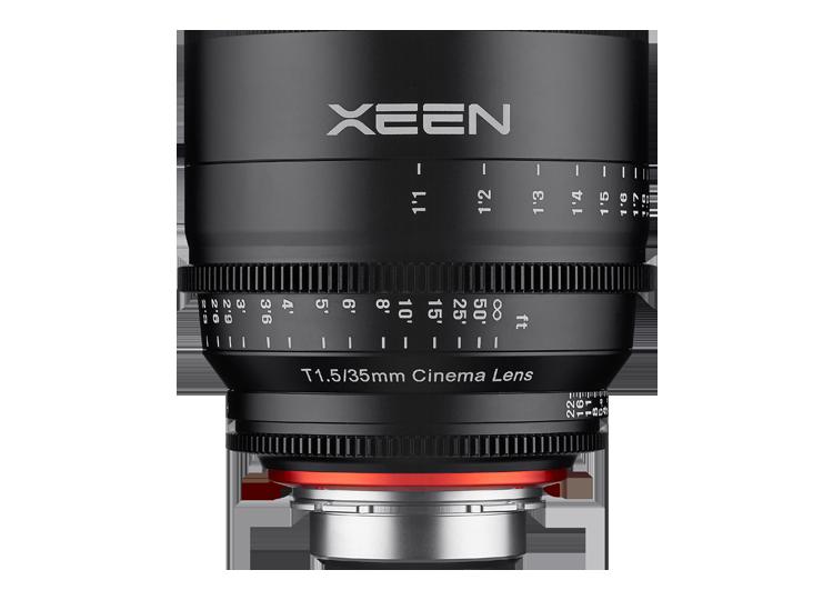 Obiektyw Samyang Xeen 35mm T1.5 Sony E