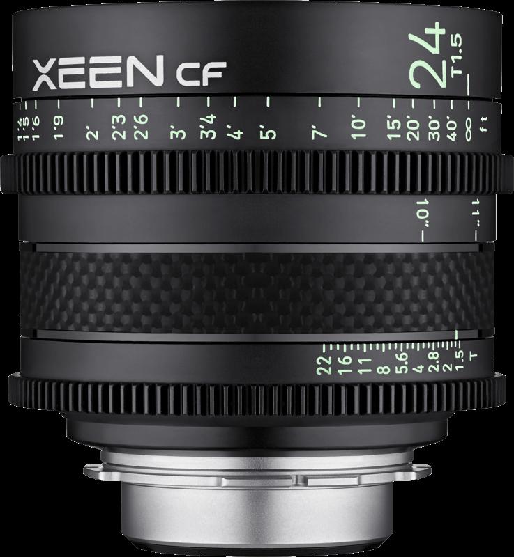 Obiektyw Samyang Xeen CF 24mm T1.5 Canon EF