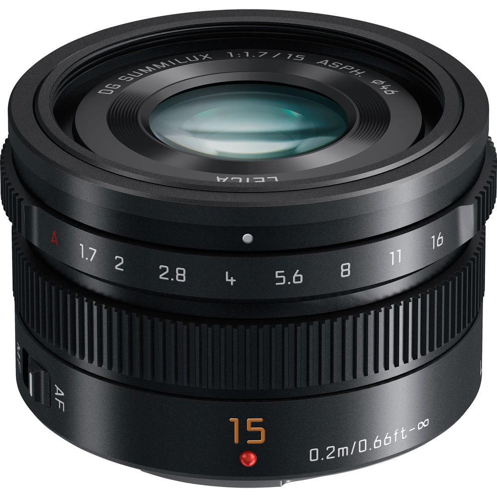 Obiektyw Panasonic Leica DG Summilux 15mm f/1.7 ASPH | (w magazynie)