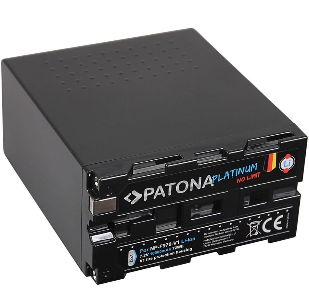Akumulator Patona Platinum NP-F970 ogniwa TESLA, obudowa V1 odporna na gorąco
