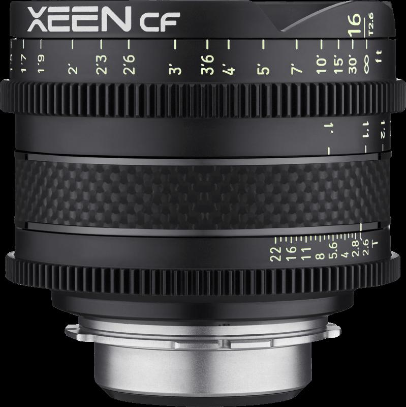 Obiektyw Xeen CF 16mm T2.6 PL