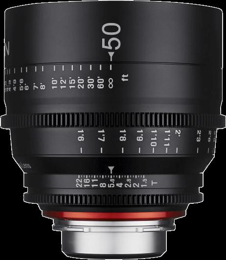 Obiektyw Samyang Xeen 50mm T1.5 PL