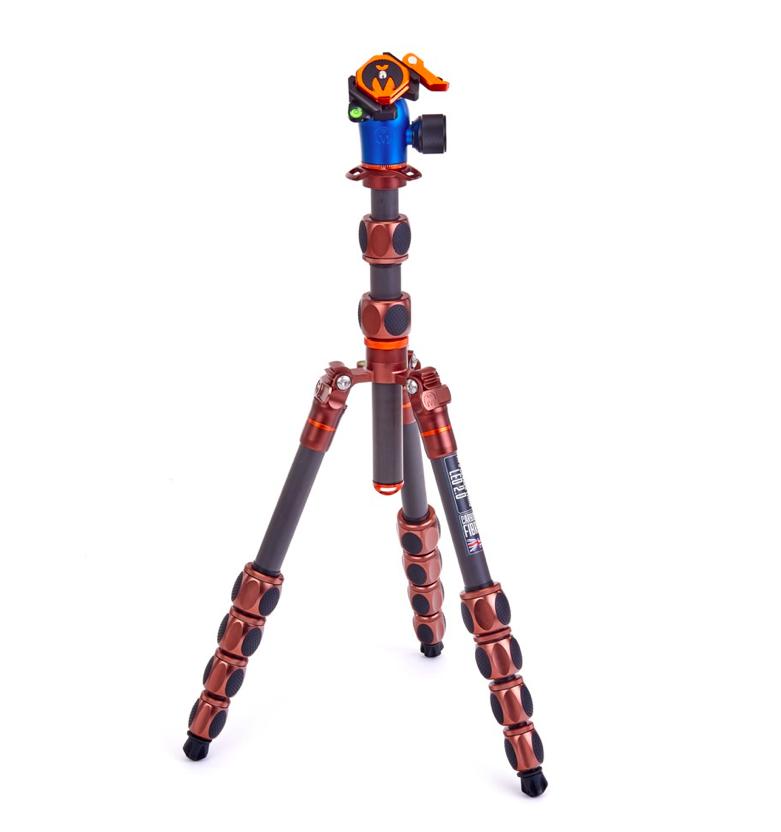 Statyw 3 Legged Thing Pro 2.0 Leo & głowica Pro LV Brązowy